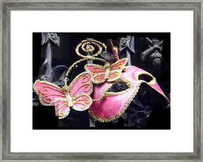 Framed Print featuring the photograph Phantom Pink by Amanda Eberly-Kudamik