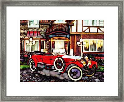 Phantom Rolls Royce 1935 Framed Print