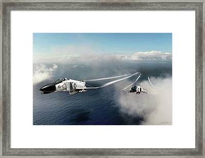 Phantom Section Framed Print by Peter Chilelli
