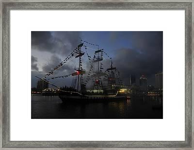 Phantom Ship Framed Print by David Lee Thompson