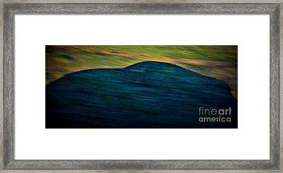 Phantom Speed Framed Print by Eva Maria Nova