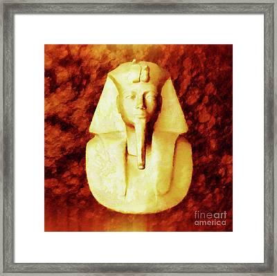 Pharaoh By Sarah Kirk Framed Print by Sarah Kirk