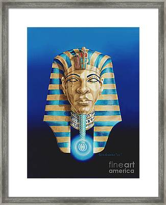 Pharaoh Framed Print by George Combs