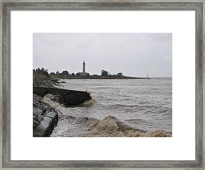 Framed Print featuring the photograph phare de Richard by Marc Philippe Joly