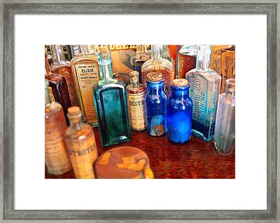 Pharmacist - Medicine Cabinet  Framed Print by Mike Savad