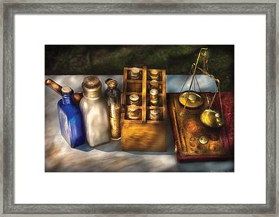 Pharmacist - Field Medicine Framed Print