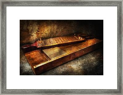 Pharmacy - Traditional Pill Crusher  Framed Print by Mike Savad