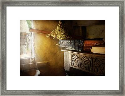 Framed Print featuring the photograph Pharmacy - The Apothecarian by Mike Savad
