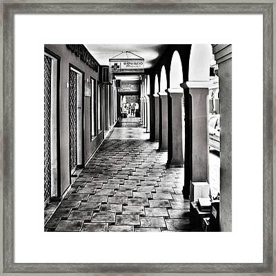 Pharmacy, Zante Town. #zakynthos #zante Framed Print