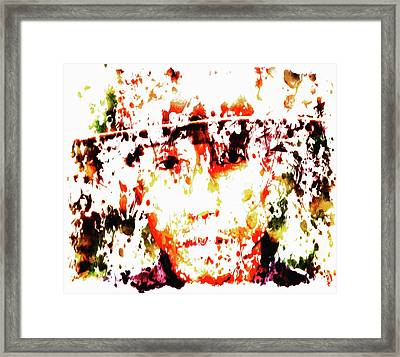 Pharrell Williams 8c Framed Print