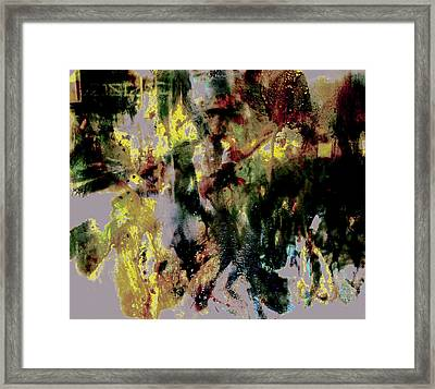 Pharrell Williams Paint Splats Framed Print