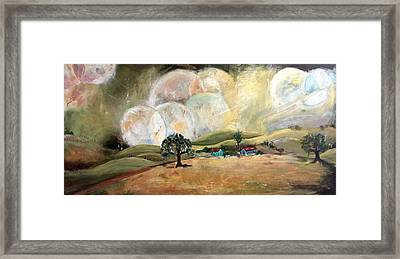 Phases Framed Print by Amy Williams