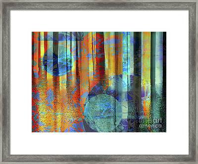 Phasing Through Framed Print by Robert Ball