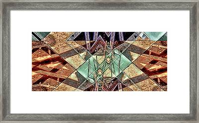 Phasmids Framed Print by Ron Bissett