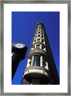 Framed Print featuring the photograph Phelan Building In San Francisco by Carl Purcell
