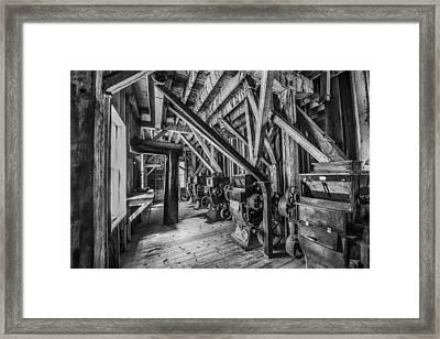 Phelps Mill Framed Print by Paul Freidlund