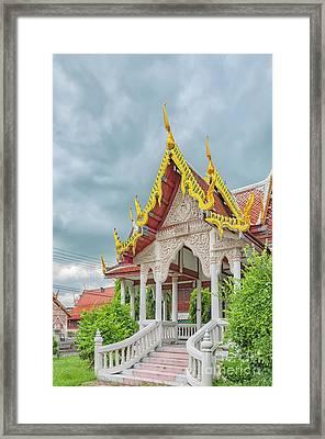 Phetchaburi Temple In Thailand Framed Print
