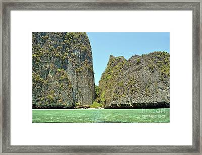 Phi Phi Islands 2 Framed Print by Eva Kaufman