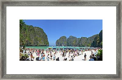 Phi Phi Islands 4 Framed Print