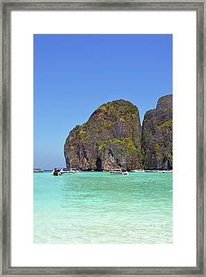 Phi Phi Islands Framed Print by Eva Kaufman