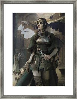 Phial Framed Print by Eve Ventrue