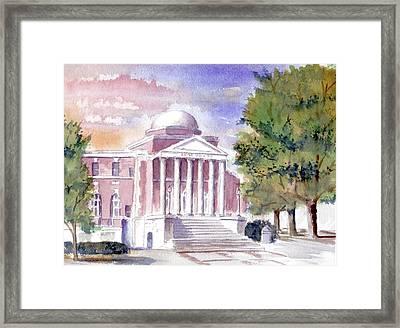 Phifer Hall Framed Print by Jim Stovall