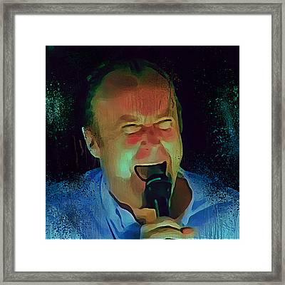 Phil Collins Ha Ha Ha Framed Print