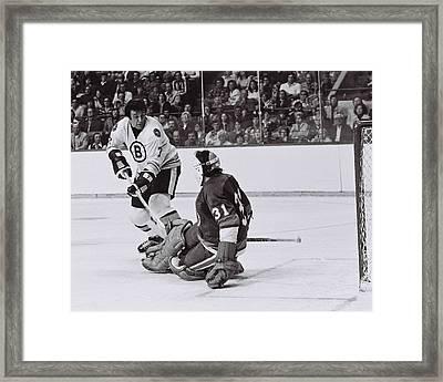 Phil Esposito Framed Print