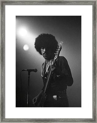 Phil Lynott Framed Print by Sue Arber