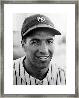 Phil Rizzuto, September 10, 1941. Csu Framed Print