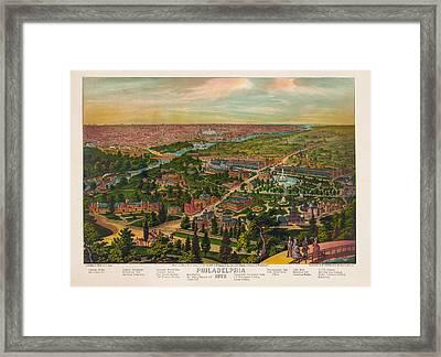 Philadelphia 1876 Framed Print by Bill Cannon
