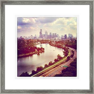 #philadelphia Framed Print