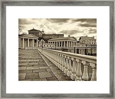 Philadelphia Art Museum 1 Framed Print by Jack Paolini