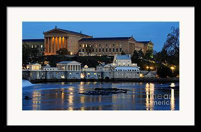 Philadelphia Art Museum Framed Prints