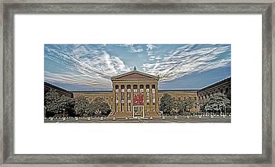 Philadelphia Art Museum Framed Print by Jack Paolini