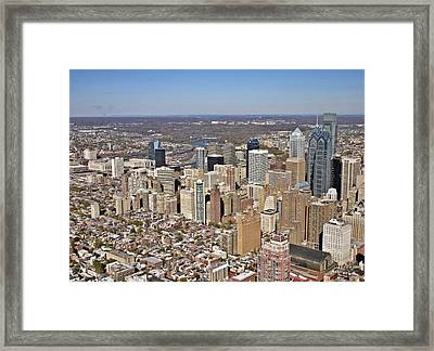 Philadelphia Avenue Of The Arts Rittenhouse Framed Print by Duncan Pearson
