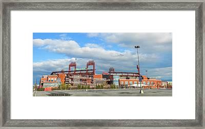 Philadelphia Baseball - Citizens Bank Park Framed Print by Bill Cannon