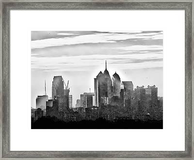 Philadelphia Framed Print by Bill Cannon