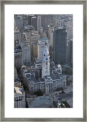 Philadelphia City Hall 0443 Framed Print by Duncan Pearson