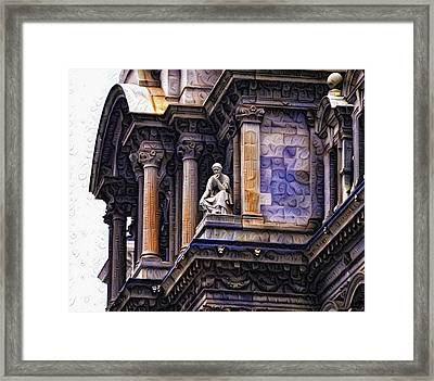 Philadelphia City Hall - Amazing Architecture Framed Print by Bill Cannon
