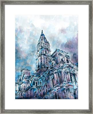 Philadelphia City Hall Framed Print