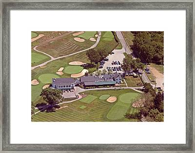 Philadelphia Cricket Club Flourtown Clubhouse 6075 W Valley Green Rd  Flourtown Pa  19031 Framed Print