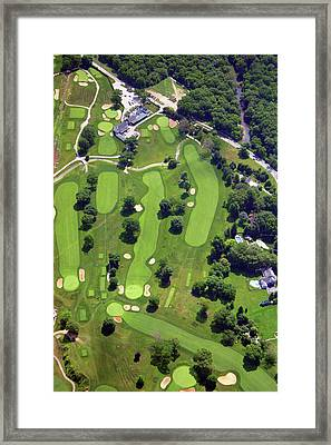 Philadelphia Cricket Club Holes 1 2 3 10 11 17 And 18 Framed Print