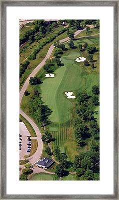 Philadelphia Cricket Club Militia Hill Golf Course 10th Hole Framed Print by Duncan Pearson