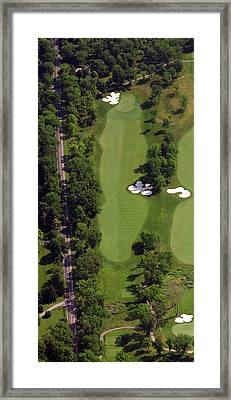 Philadelphia Cricket Club Militia Hill Golf Course 13th Hole Framed Print
