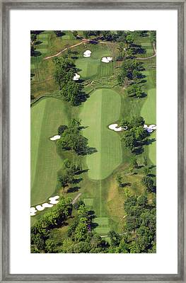 Philadelphia Cricket Club Militia Hill Golf Course 14th Hole Framed Print by Duncan Pearson