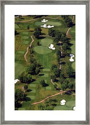 Philadelphia Cricket Club Militia Hill Golf Course 15th Hole Framed Print by Duncan Pearson