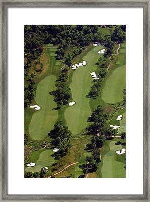 Philadelphia Cricket Club Militia Hill Golf Course 17th Hole Framed Print by Duncan Pearson