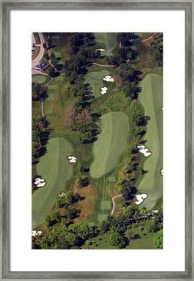Philadelphia Cricket Club Militia Hill Golf Course 18th Hole Framed Print by Duncan Pearson