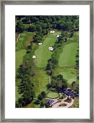 Philadelphia Cricket Club Militia Hill Golf Course 1st Hole Framed Print by Duncan Pearson